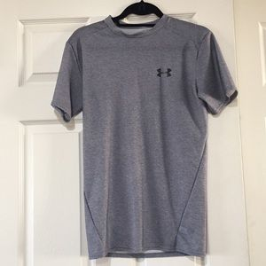 Gray Under Armour Compression Shirt